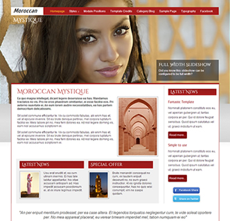 Religion Islam Tourism Culture Joomla Template