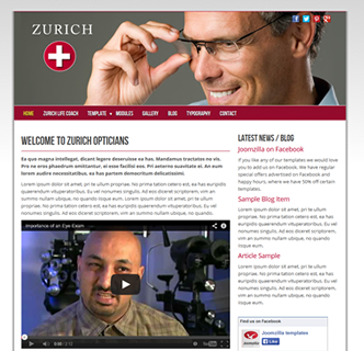 joomla optician template life coach template
