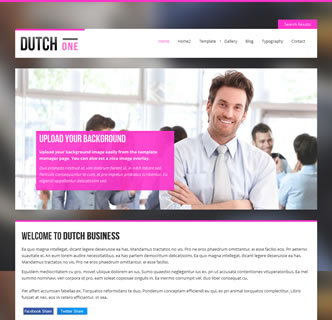 joomla modern business responsive template holland