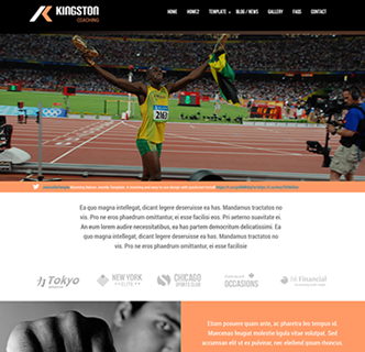 joomla athletics template, joomla track and field template