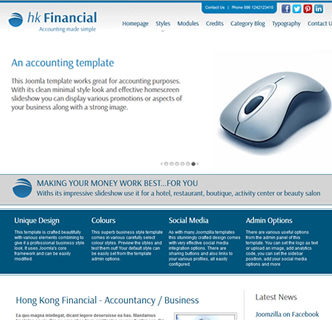 accountant joomla, joomla accountancy template, banking template, financial joomla template