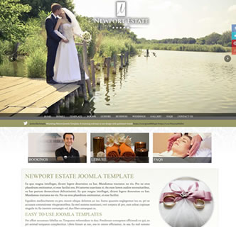 joomla responsive hotel template full screen background