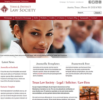 joomla lawyer solicitor template legal template joomla