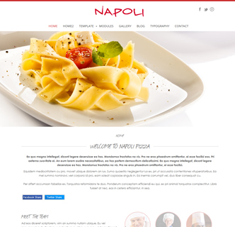 joomla pizzeria template the best restaurant cafe